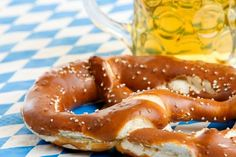 Sauerkraut, Schnitzel, Bratwurst, Strudel, and lots more! Learn about German food specialties. Find German food in your area. German Bread, German Baking, Bratwurst, German Appetizers, Toast Hawaii, Schnitzel Recipes, Wiener Schnitzel, Pork Schnitzel, Pretzels Recipe