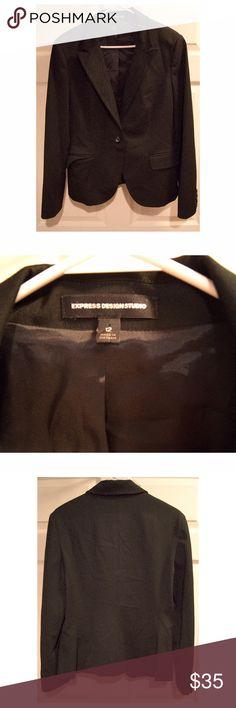 EXPRESS Black Blazer Size 12 blazer from Express. Express Jackets & Coats Blazers