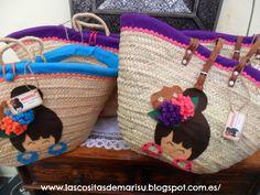 cesta con flamenquitas
