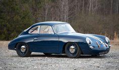 Car Porn: 1964 Porsche 356C 'Outlaw' Coupe. Stunner.