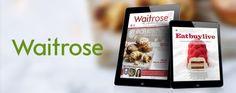 This app for Waitrose Kitchen magazine has also been built using PageSuite Live - take a look at this edition for some Christmas recipe inspiration!