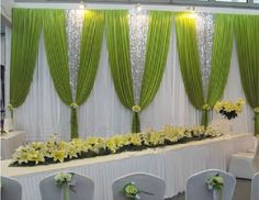 Wedding Backdrops, Pipe and Drape