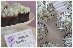 """Hortensien Cupcakes von """"birks like cake"""""""
