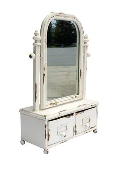 Metal Table Mirror by Rustic Trading Decor on @HauteLook