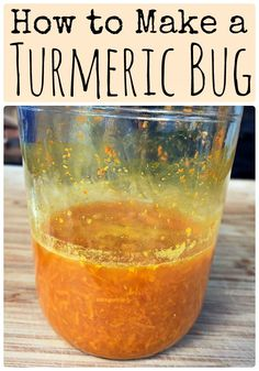 Learn how to make a fermented turmeric bug, similar to a ginger bug but made with turmeric root instead. Use it as a base for naturally fermented sodas.