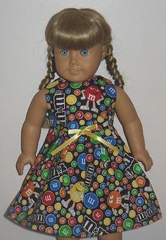M-Ms-colored-candy-print-dress-clothes-made-for-American-Girl