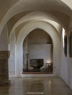 Romanisches Kreuzgradgewölbe.