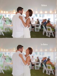 Retro Photoshop Wedding Actions