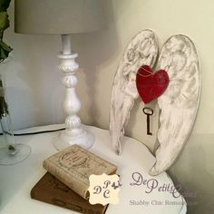 ali shabby legno - wooden shabby wings handmade