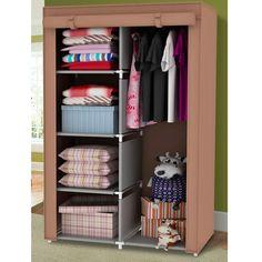Superbe Quot Portable Wardrobe Clothes Storage Bedroom Closet Organizer With Non  Woven