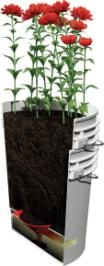 DIY Self-Watering Containers  You can make your own self-watering container from a couple of 5-gallon buckets.