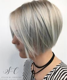 Best Short Angled Bob Hairstyles – Page 15 of 21 Really Popular Short Hairstyles Bob Style Haircuts, Angled Bob Hairstyles, Popular Short Hairstyles, Pixie Haircuts, Angle Bob, Bob Haircut For Fine Hair, Bob Hairstyles For Fine Hair, Medium Hairstyles, Braided Hairstyles