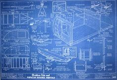 old teardrop trailers | Ghostwagens: Plans for Vintage Teardrop Trailers