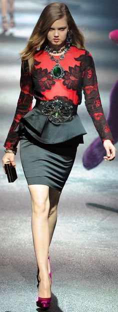 ✜ Lanvin / Fall 2012 RTW ✜ http://www.vogue.com/collections/fall-2012-rtw/lanvin/review/