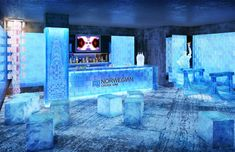 The Norwegian Getaway's Miami-themed Ice Bar to feature Florida-inspired SVEDKA specialty cocktails and Inniskillin Ice Wine cocktails.