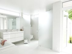 Lyse gulvfliser Helstøpt arkitektur i Stavanger - Bo-Bedre.no