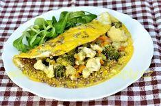 Pohanková omeleta s dušenou zeleninou Tacos, Mexican, Ethnic Recipes, Food, Eten, Meals, Diet