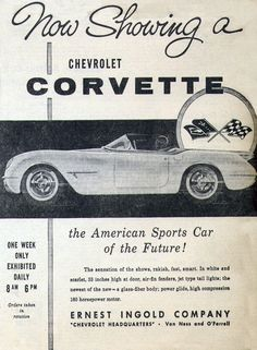 1953 Corvette (First Year)