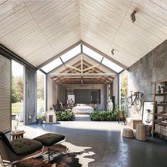 Ceiling / room.