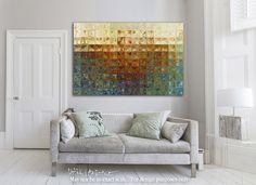 Interior Design Inspiration- Modern Tile Art | Tile Art #2, 2015. Modern Mosaic Tile Wall Art Painting