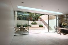 Sliding Doors - Small Extension In A New Build Property