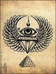 Resultado de imagem para tattoo egipcia