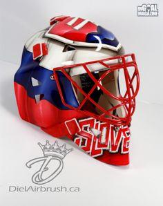Jaroslav Halak 2014 Olympic Mask (3 of 5)