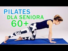 (55) Pilates dla seniora 60 + - YouTube