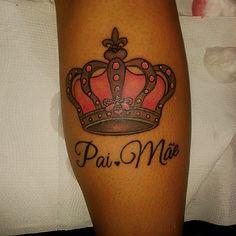 Crown tattoo. Coroa tatuagem.  Tatuador: Fábio Habibe.