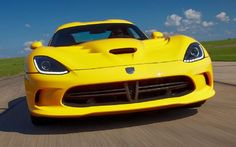 One sexy snake -- the 2013 SRT Viper.