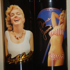 Marilyn Monroe Merlot & Norma Jeane 2 Bottle 2003 Vintage Red Wine Full Mint #Marilyn Marilyn Monroe continues to capture the imagination of our culture. Perhaps this will fade over time, but for now, Marilyn fever still runs high.  There is no doubt about the power of her name and image. Wine drinkers everywhere have a way to celebrate their love, nostalgia, and reverence for Norma Jean, thanks to the Marilyn Wine Company.