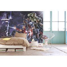 Fototapete Avengers Citynight 254x184 cm