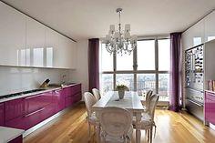 La cucina in stile provenzale moderno...