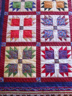 Pieced by Susan Owens Quilted by Jessica's Quilting Studio