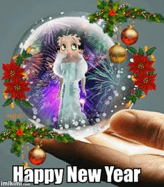 happy new year boop gif betty boop pictures happy new year happy wishes