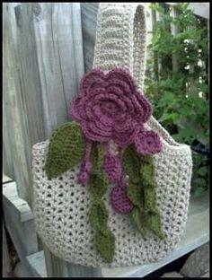 Crochet Purses Ideas Ravelry: Victorian Romance Purse pattern by Shelle Hendrix - Crochet Shell Stitch, Crochet Motifs, Crochet Tote, Crochet Handbags, Crochet Purses, Love Crochet, Bead Crochet, Crochet Crafts, Yarn Crafts