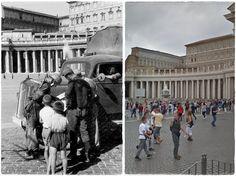 Paracadutisti Tedeschi in Piazza San Pietro Roma 1943