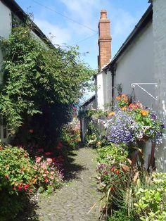 Beautiful village of Clovelly in North Devon