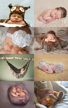 Dying of cuteness - Baby photo props treasury by Felicia Stevenson on Etsy--Pinned with TreasuryPin.com