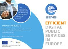 e-SENS project value story for public administration Member States Public Administration, Personal Care, Digital, Simple, Personal Hygiene