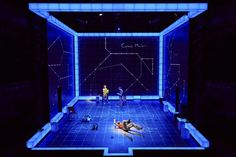 The Curious Incident Of The Dog In The Night-Time at the Apollo theatre (Photo…