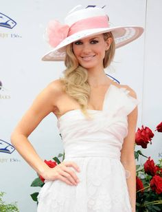 0a22bae4f KENTUCKY DERBY 2010 | Marisa Miller at the 136th Kentucky Derby on May 1,  2010