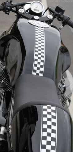 RocketGarage Cafe Racer: HTMoto LM3
