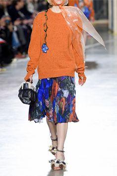 Christopher Kane   Printed plissé-crepe skirt   NET-A-PORTER.COM