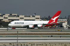https://flic.kr/p/9y7eeN   Qantas Airlines, Airbus A380-800   Airbus A380 Qantas Airlines LAX Oct 1, 2010