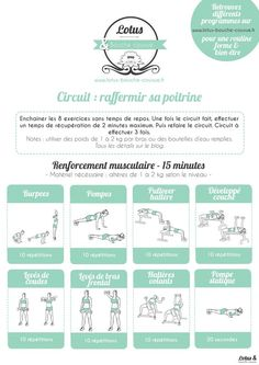 Yoga Fitness Flow - Circuit pour raffermir sa poitrine - Lotus Bouche Cousue - Get Your Sexiest. Body Ever!…Without crunches, cardio, or ever setting foot in a gym! Body Fitness, Sport Fitness, Health Fitness, Fitness Plan, Cardio Fitness, Insanity Fitness, Corps Fitness, Sport Cardio, Fitness Shirts