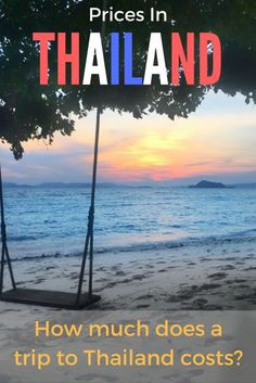 how much does a trip to thailand cost 12
