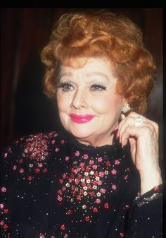 Ball in the late '80s. She died in 1989 at age 77. | Lucille Ball At 19 Was Incredibly Gorgeous