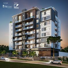 Maquete Eletrônica Fachada do Empreendimento Residencial - Fyr Studio #fachada # arquitetura # architecture