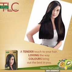 #StreaxTLC comes with a Gloss Enhance Conditioner that gives you that shine and luster after coloring your hair.